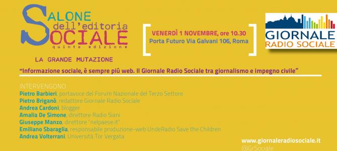 """""""Informazione sociale, è sempre più web. Il Giornale Radio Sociale tra giornalismo e impegno civile"""""""