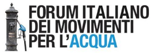 Forum italiano dei movimenti per l'acqua bene comune