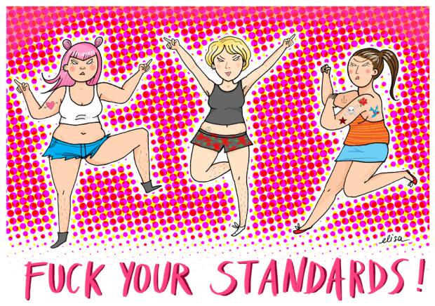 Shorts Per Tutt* – Campagna contro il body shaming