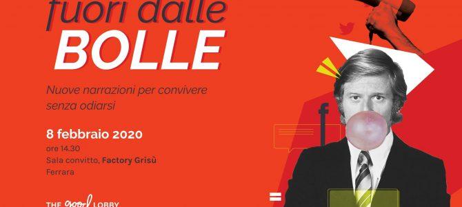 """""""Fuori dalle BOLLE"""". Seminario a Ferrara"""